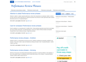 performancereviewphrases.info
