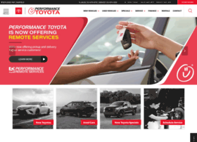 performancetoyotastore.com