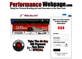 performancewebpage.com