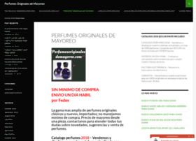 perfumesoriginalesdemayoreo.com