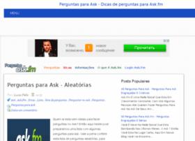 perguntasparaask.com