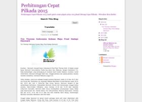 perhitungancepatpilkada2013.blogspot.com