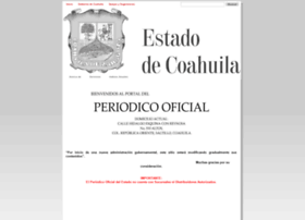 periodico.sfpcoahuila.gob.mx