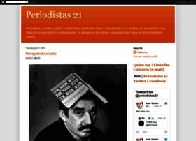 periodistas21.blogspot.com