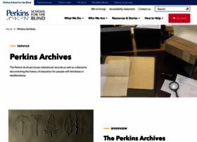 perkinsarchives.org