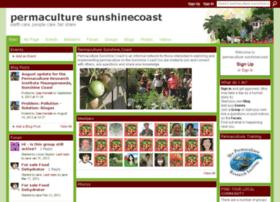permaculturesunshinecoast.ning.com