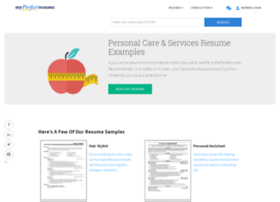 personal-care.myperfectresume.com