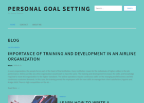 personal-goal-setting.com