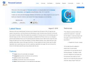 personal-lexicon.com