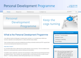 personaldevelopmentprogramme.co.uk