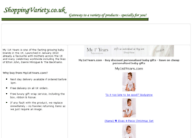 personalised-baby-gifts.shoppingvariety.co.uk