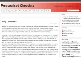 personalised-chocolate.co.uk