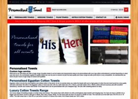personalisedtowel.co.uk