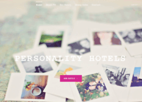 personalityhotels.com