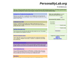 personalitylab.org