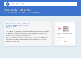 personalitytest.net