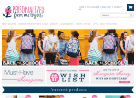 personalizedfrommetoyou.com