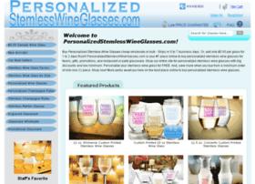 personalizedstemlesswineglasses.com
