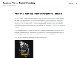 personaltrainerdirectorylist.com