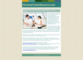 personaltrainerresource.com