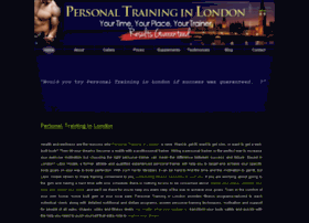personaltraininginlondon.co.uk
