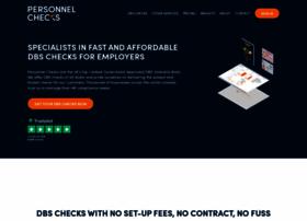 personnelchecks.co.uk