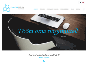 persoonibrand.ee