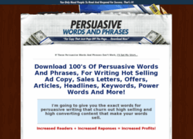 persuasivewordsandphrases.com