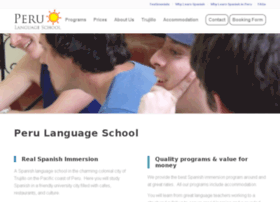 peru-language-school.com