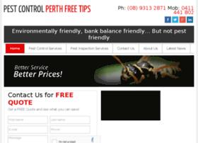 pestcontrolperthfreetips.com