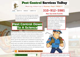 pestcontrolservicestoday.com