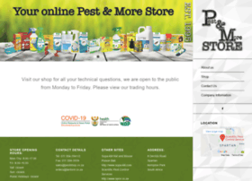 pestcontrolshop.co.za