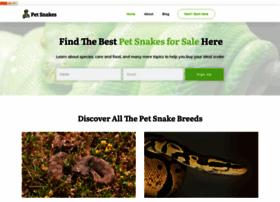 pet-snakes.com