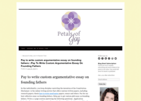 petalsofjoy.org