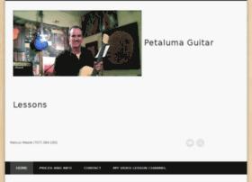petalumaguitarlessons.com