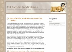 petcarriersforairplanes.com
