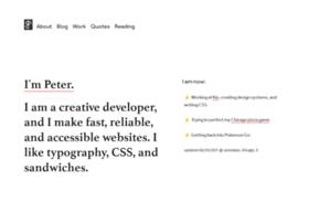 peterbinks.net