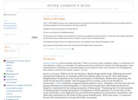 petergordonsblog.com
