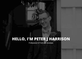 peterjharrison.me