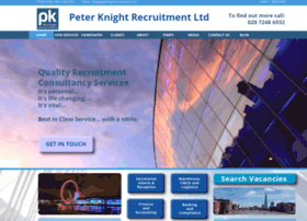 peterknightrecruitment.com