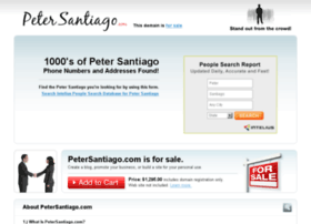petersantiago.com