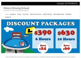 petersdrivingschool.com.au
