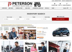 petersonchevrolet.org