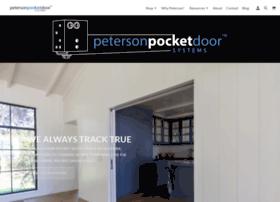petersonpocketdoor.com