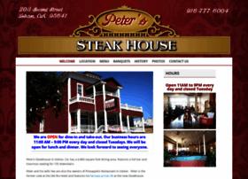 peterssteakhouse.net