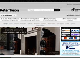 petertyson.co.uk