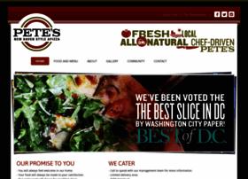 petesapizza.com