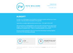 petewilliams.info