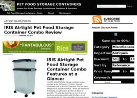 petfoodstoragecontainers.org