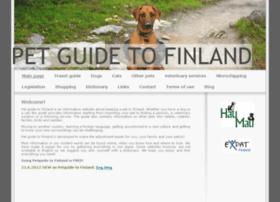 petguidefinland.com